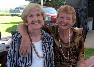 Clara MacLeod & Rae MacCulloch at the St. Raphael's Galarama, 2007