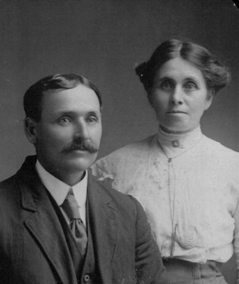 Duncan Fletcher and Catherine MacGillivary
