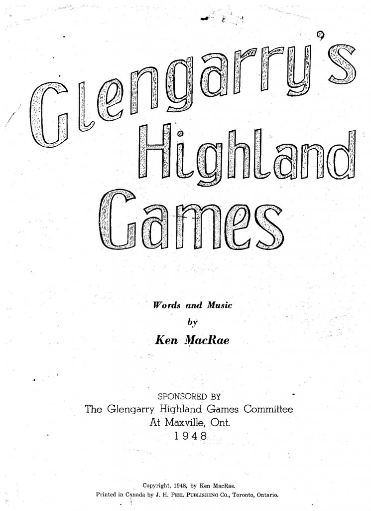 Glengarry's Highland Games