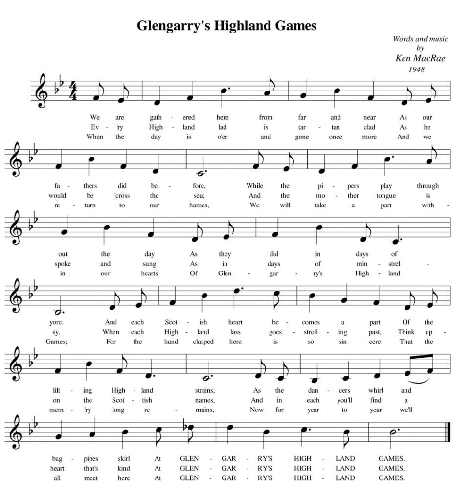 Glengarry's-Highland-Games-music